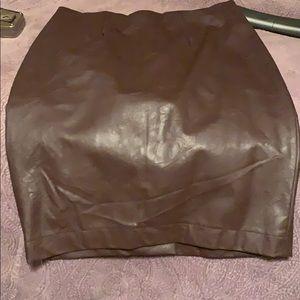 Brown pencil skirt ANN Taylor
